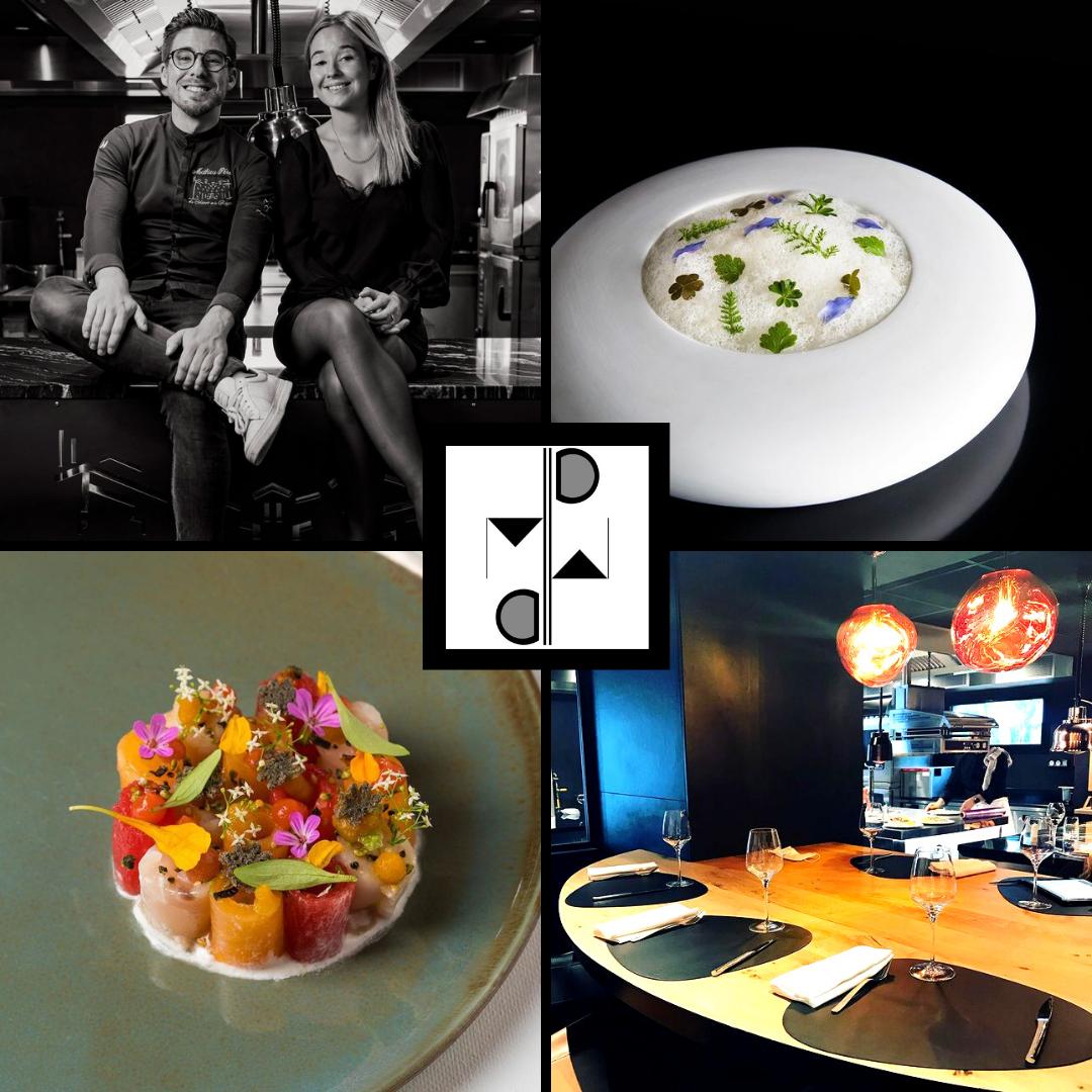 Quatre photos du restaurant Le Manoir de la Régate