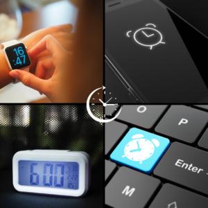 4 types d'alarmes différents