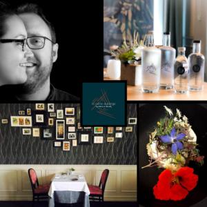 Montage de 4 photos du restaurant La Petite Auberge