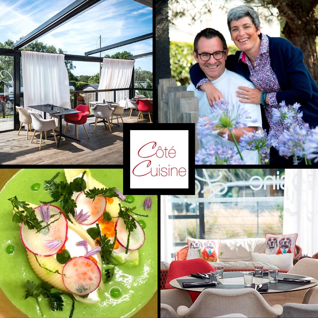 Quatre photos du restaurant Côté Cuisine
