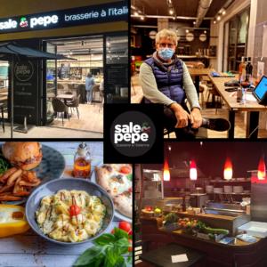 Quatre photos du restaurant Sale & Pepe